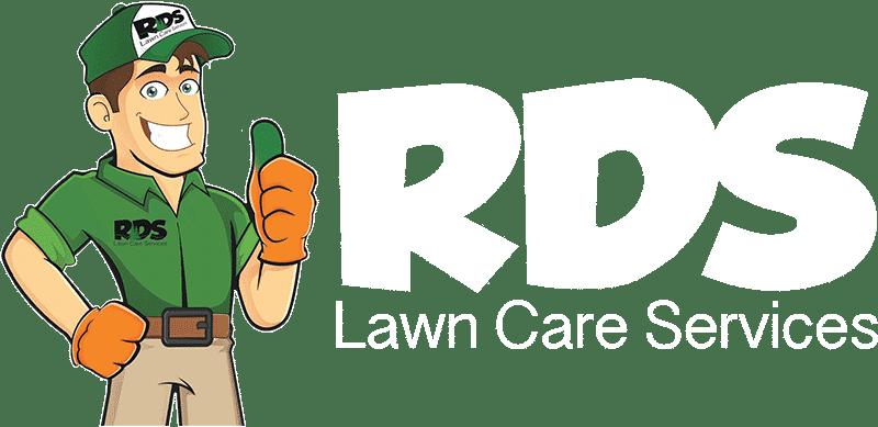 RDS Lawn Care White Logo